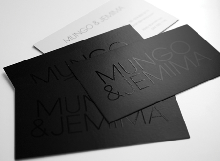 All Black Business Cards Choice Image Card Design And